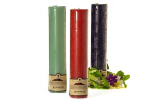 2 x 9 Pillar Candles