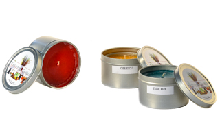 8 oz Candle Tins