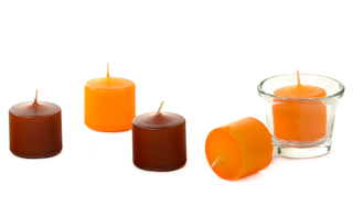 10 Hour Unscented Votive Candles