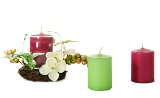 15 Hour Unscented Votive Candles