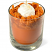 pumpkin parfait candle top