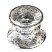 silver athena holder top