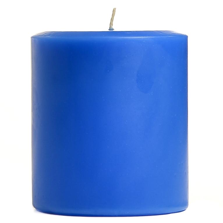 4 x 4 Blueberry Cobbler Pillar Candles