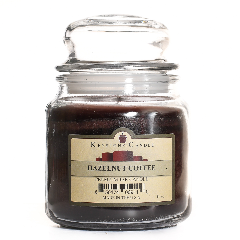 Hazelnut Coffee Premium Fragrance Oil Bottle 16 Oz