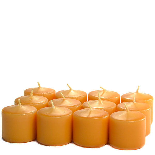 Unscented Harvest Votive Candles 15 Hour