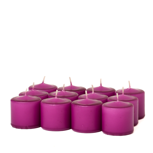 Unscented Lilac Votive Candles 15 Hour