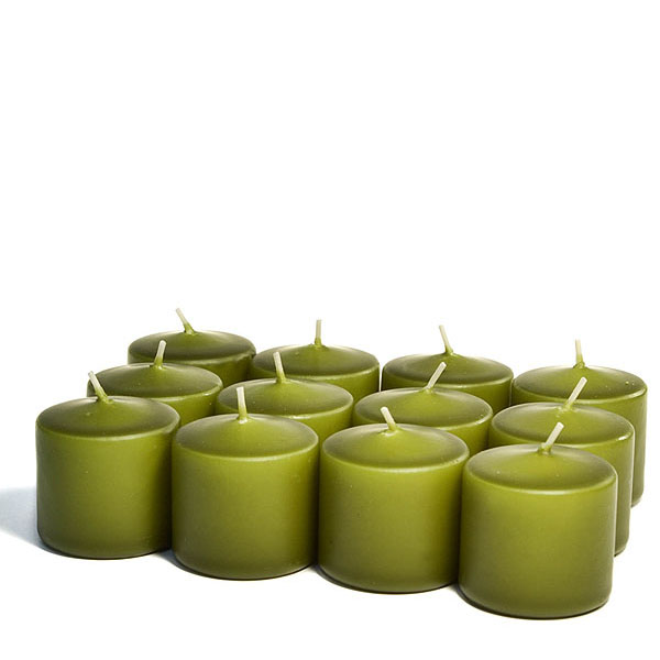 Unscented Sage Votive Candles 10 Hour