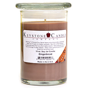 Gingerbread Soy Jar Candles 12 oz Madison