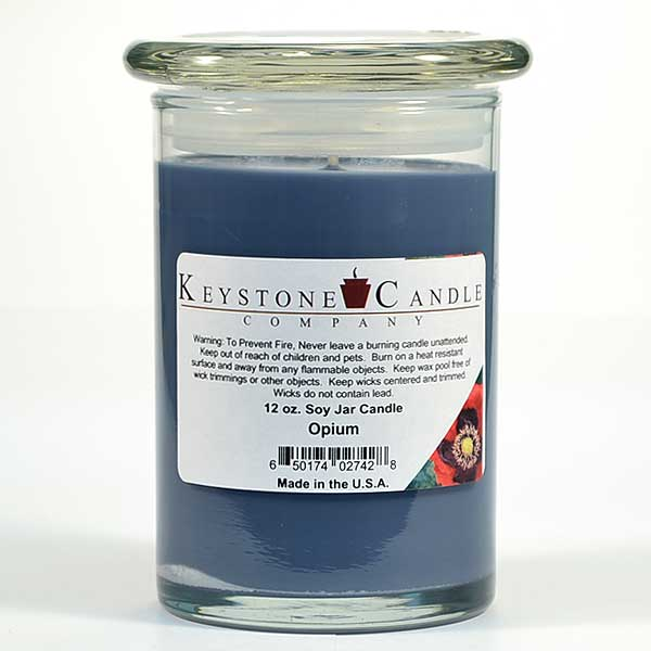 Opium Soy Jar Candles 12 oz Madison
