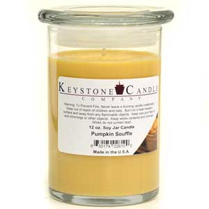 Pumpkin Souffle Soy Jar Candles 12 oz Madison