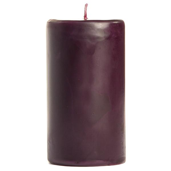 2 x 3 Merlot Pillar Candles