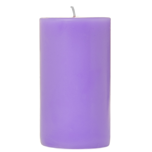 2 x 3 Lavender Pillar Candles