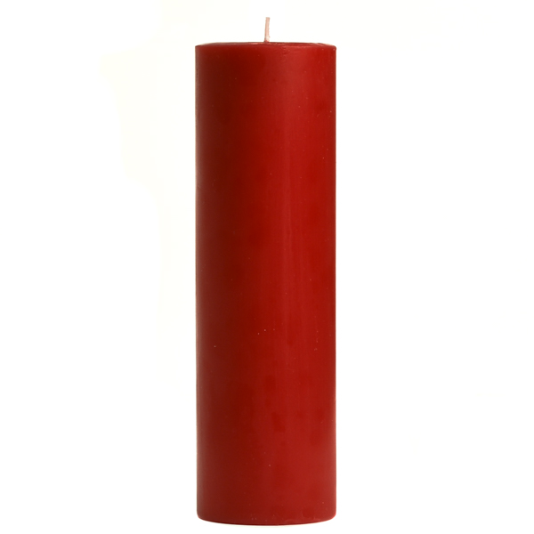 2 x 6 Mulberry Pillar Candles