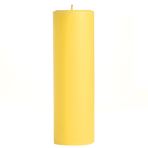 2 x 6 Pear Mango Smoothie Pillar Candles