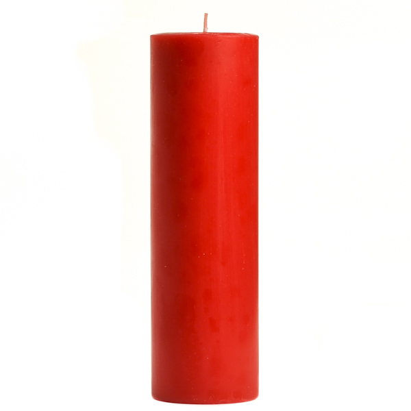 2 x 6 Apple Cinnamon Pillar Candles