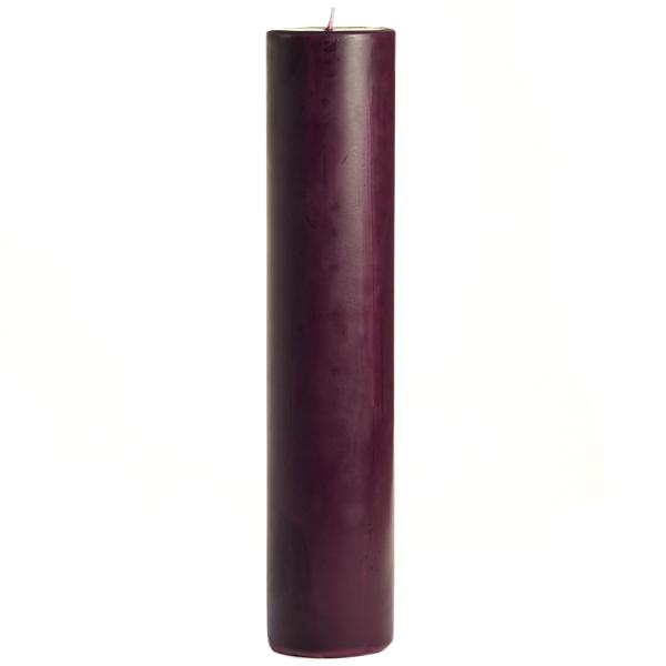 2 x 9 Merlot Pillar Candles
