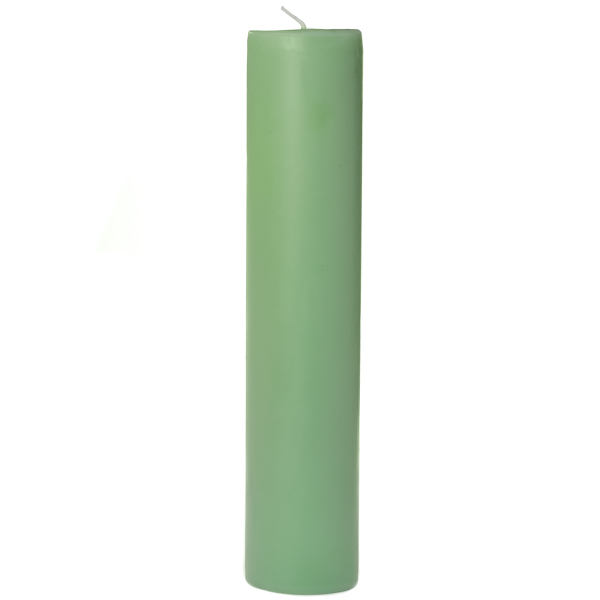 3 x 12 Honeydew Melon Pillar Candles