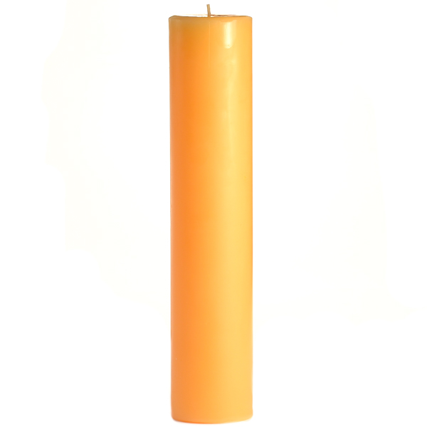 3 x 12 Creamsicle Pillar Candles