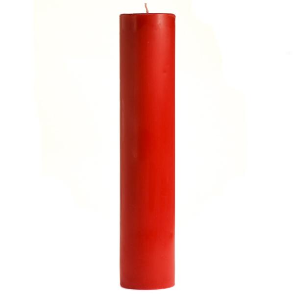3 x 12 Apple Cinnamon Pillar Candles