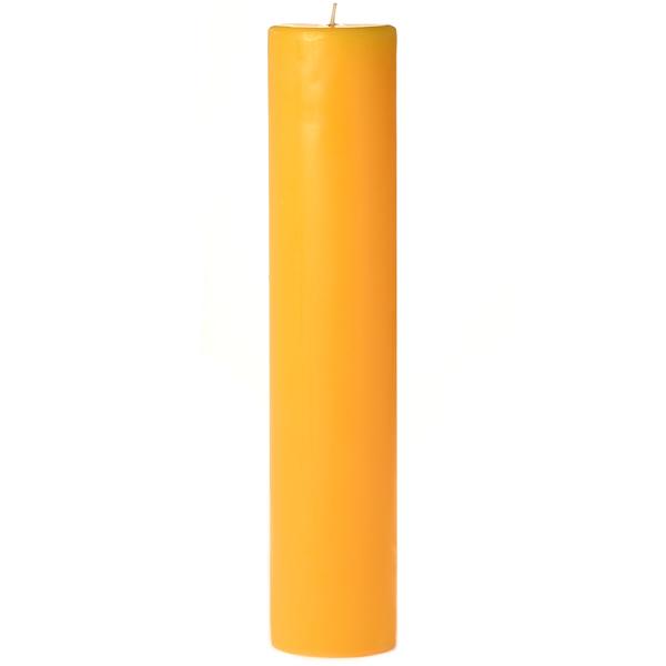 3 x 12 Sunflower Pillar Candles