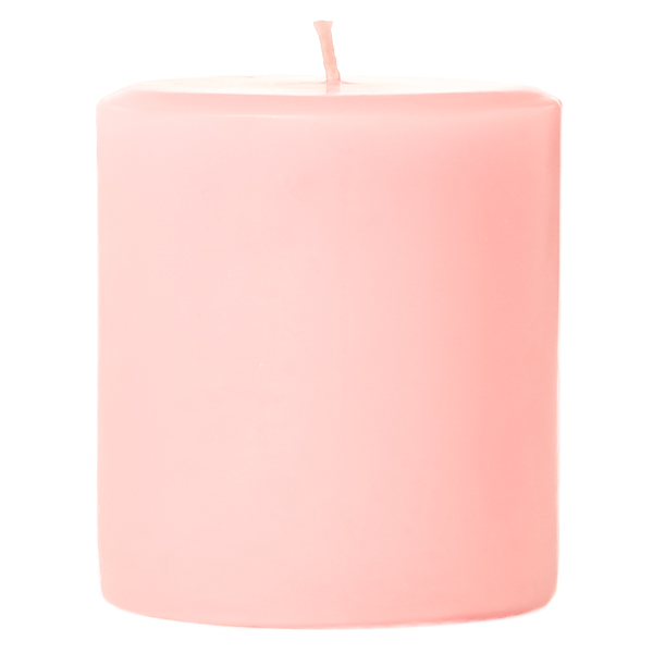 4 x 4 Sweet Pea Pillar Candles