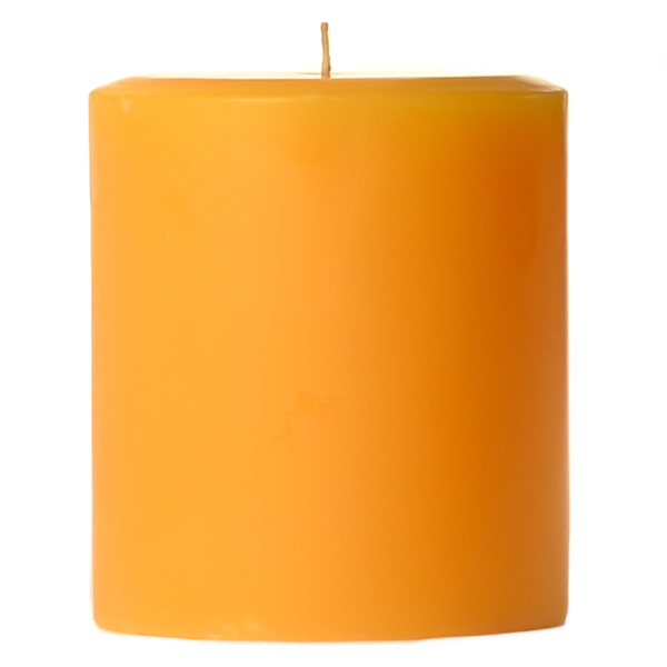 4 x 4 Sunflower Pillar Candles