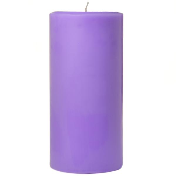 3 x 6 Lavender Pillar Candles