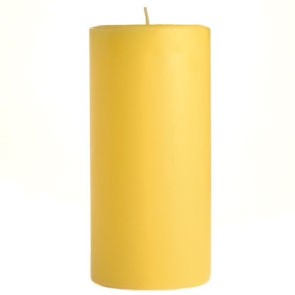 3 x 6 Pear Mango Smoothie Pillar Candles