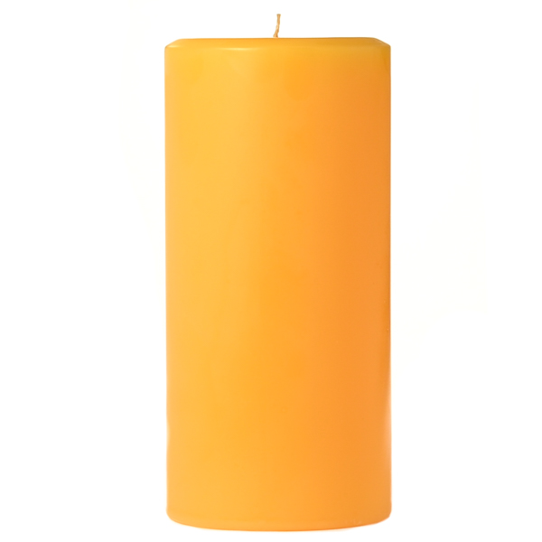 3 x 6 Sunflower Pillar Candles