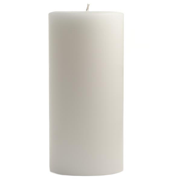 4 x 9 Dapper In Denim Pillar Candles