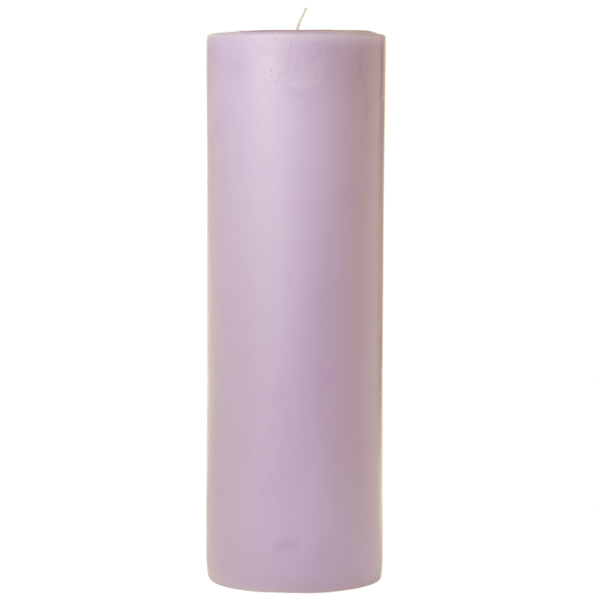 3 x 9 Lemon Lavender Pillar Candles