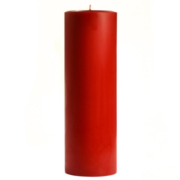 3 x 9 Macintosh Apple Pillar Candles