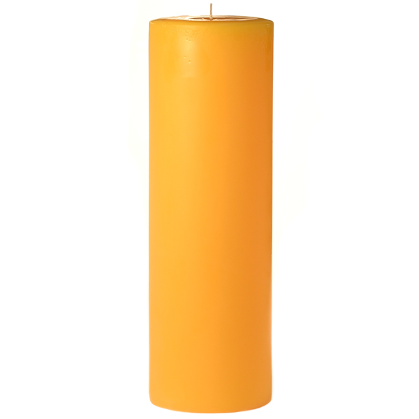 3 x 9 Sunflower Pillar Candles