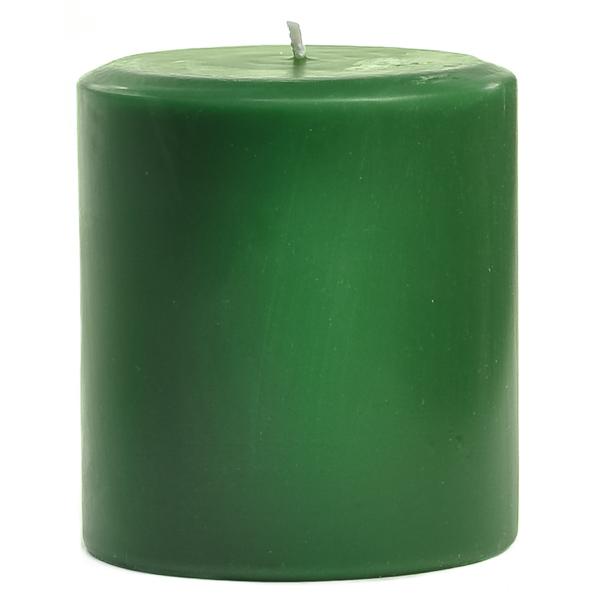 4 x 4 Pine Pillar Candles