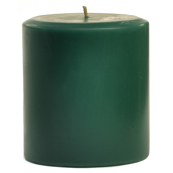 4 x 4 Balsam Fir Pillar Candles