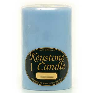 4 x 6 Ocean Breeze Pillar Candles