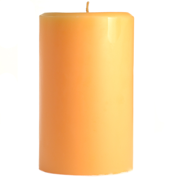 4 x 6 Creamsicle Pillar Candles