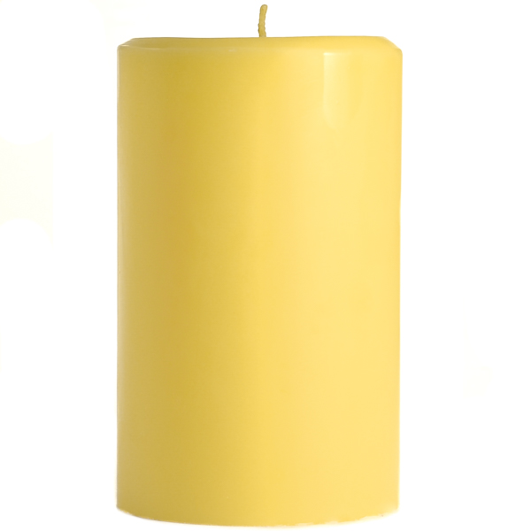 4 x 6 Pear Mango Smoothie Pillar Candles