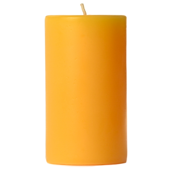 4 x 6 Sunflower Pillar Candles