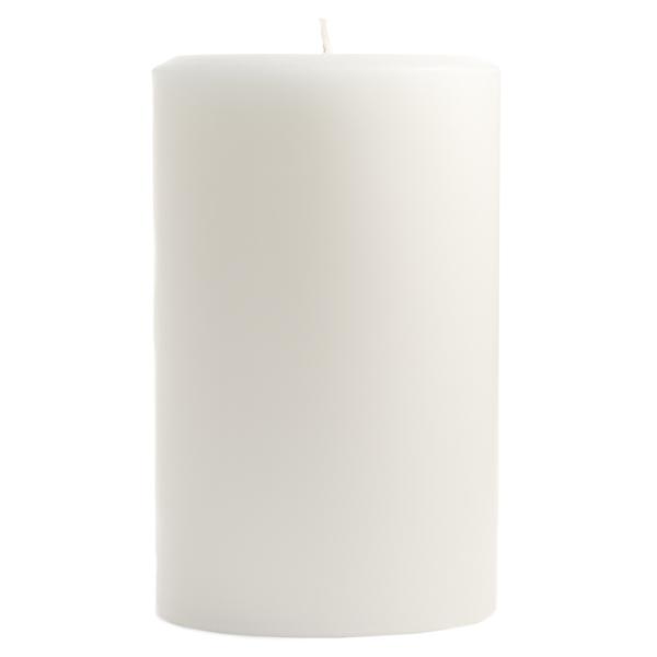 4 x 6 Dapper In Denim Pillar Candles