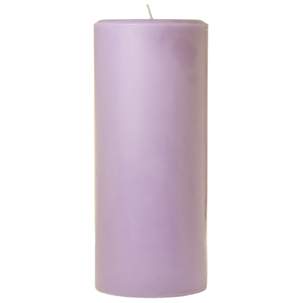 4 x 9 Lemon Lavender Pillar Candles