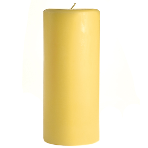4 x 9 Pear Mango Smoothie Pillar Candles
