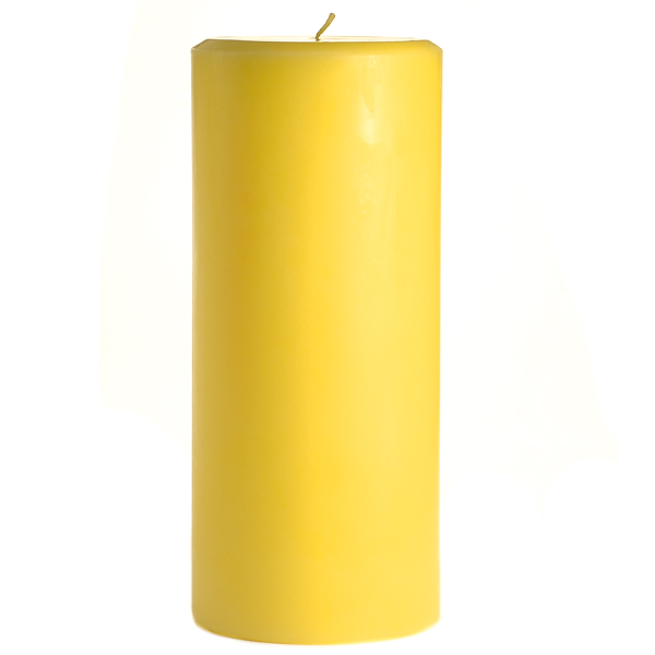 4 x 9 Tropical Pineapple Pillar Candles