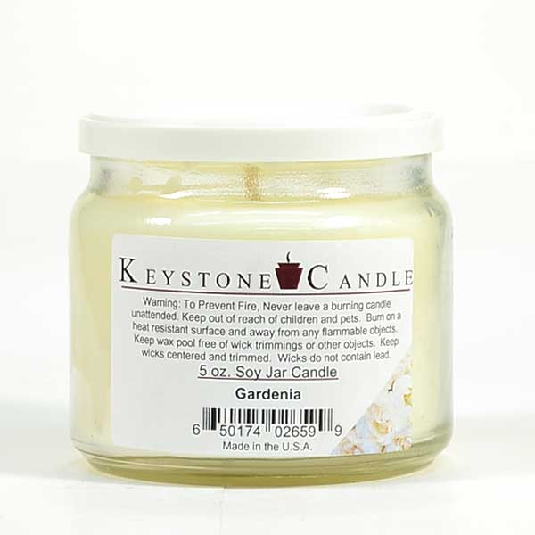 Gardenia Soy Jar Candles 5 oz