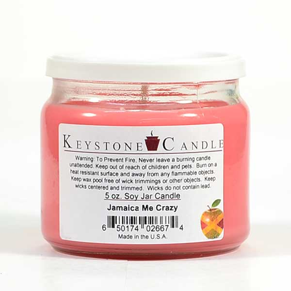 Jamaica Me Crazy Soy Jar Candles 5 oz