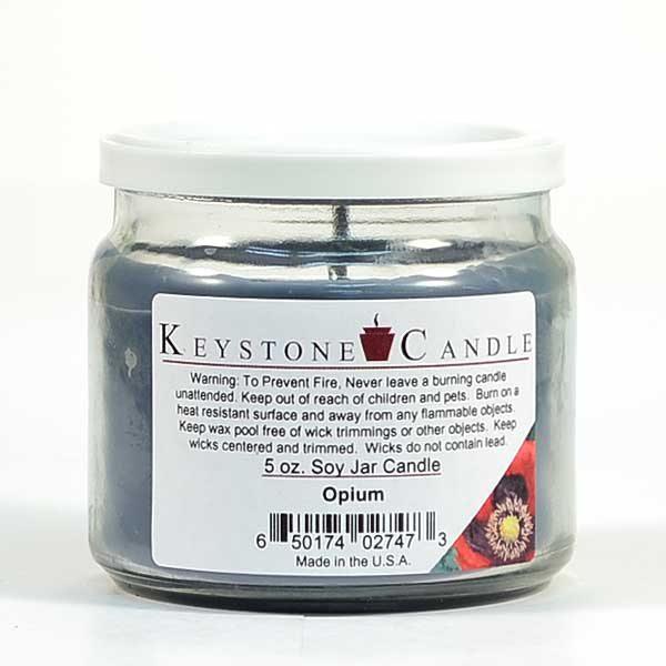 Opium Soy Jar Candles 5 oz