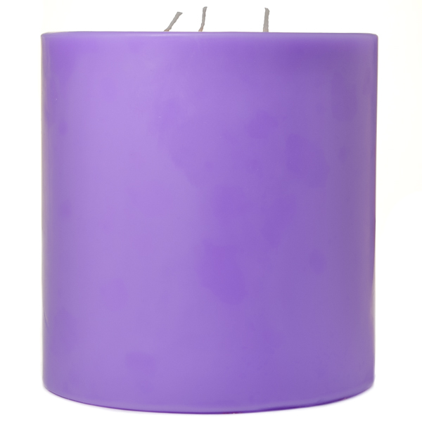 6 x 6 Lavender Pillar Candles