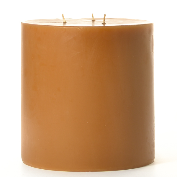 6 x 6 Spiced Pumpkin Pillar Candles