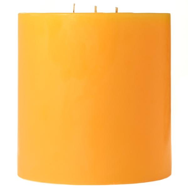 6 x 6 Sunflower Pillar Candles
