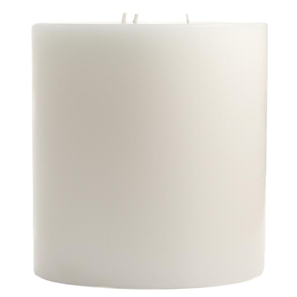 6 x 6 Dapper In Denim Pillar Candles